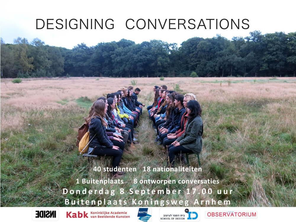 uitnodiging designing conversations